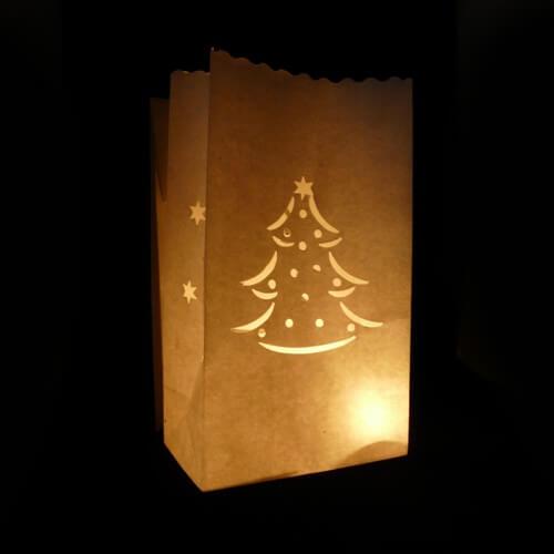 kerst candle bag kerstboom candlebagplaza