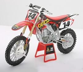 Miniatuur motor Honda Replica Kevin Windham 1:12
