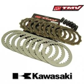 TMV CLUTCH KIT KX250F 06-.. RMZ250 04-06, (NO SPRINGS).