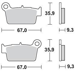 KXF 250 04-17 REAR