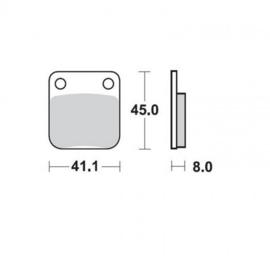 KX 65 00-21 REAR
