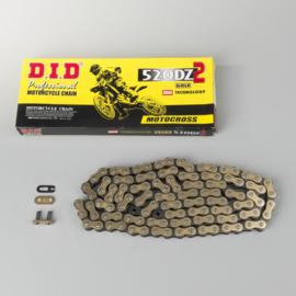 DID 520DZ2 GOLD/BLACK 118