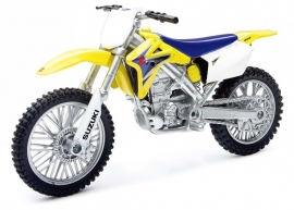Miniatuur motor cross Suzuki 1:12