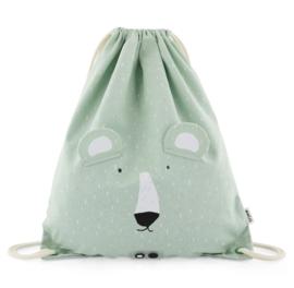 Trixie Turnzak / gymtas - Mr. Polar Bear met naam