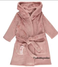 Little Dutch badjas ocean pink ( evt met geborduurde naam )