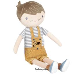 Little Dutch Knuffelpop Jim middel ( evt met naam )