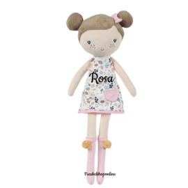 Little Dutch Knuffelpop Rosa middel ( evt met naam )