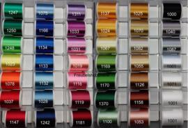 Kleurenstaal  borduren