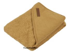 little dutch badcape pure ochre ( evt met geborduurde naam)
