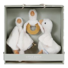 Little Goose geschenkdoos ( evt met geborduurde naam)