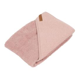 little dutch badcape pure pink ( evt met geborduurde naam)