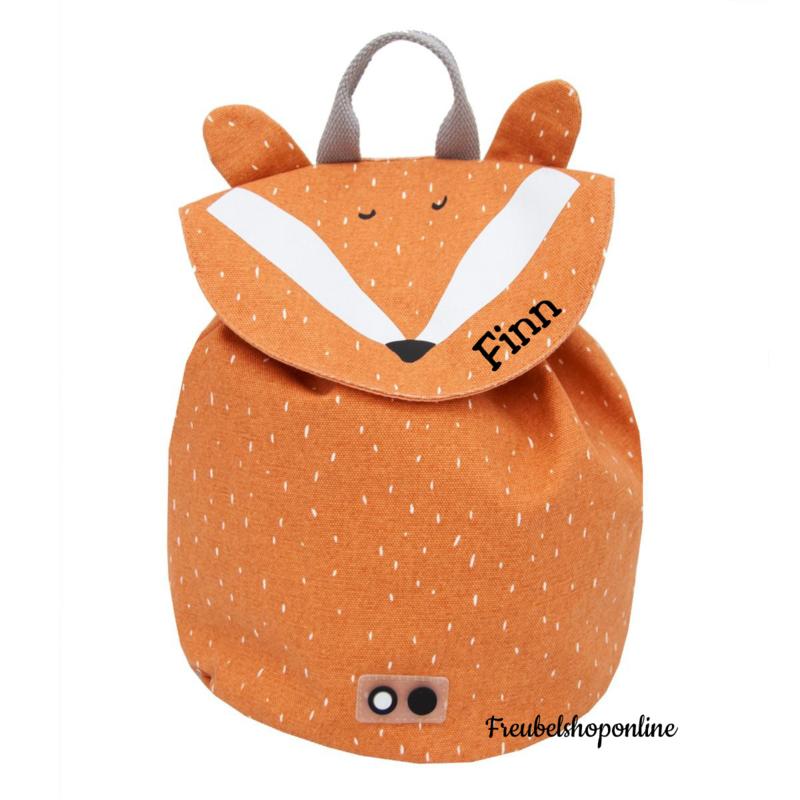 Trixie Mini rugzak - Mr. Fox met naam