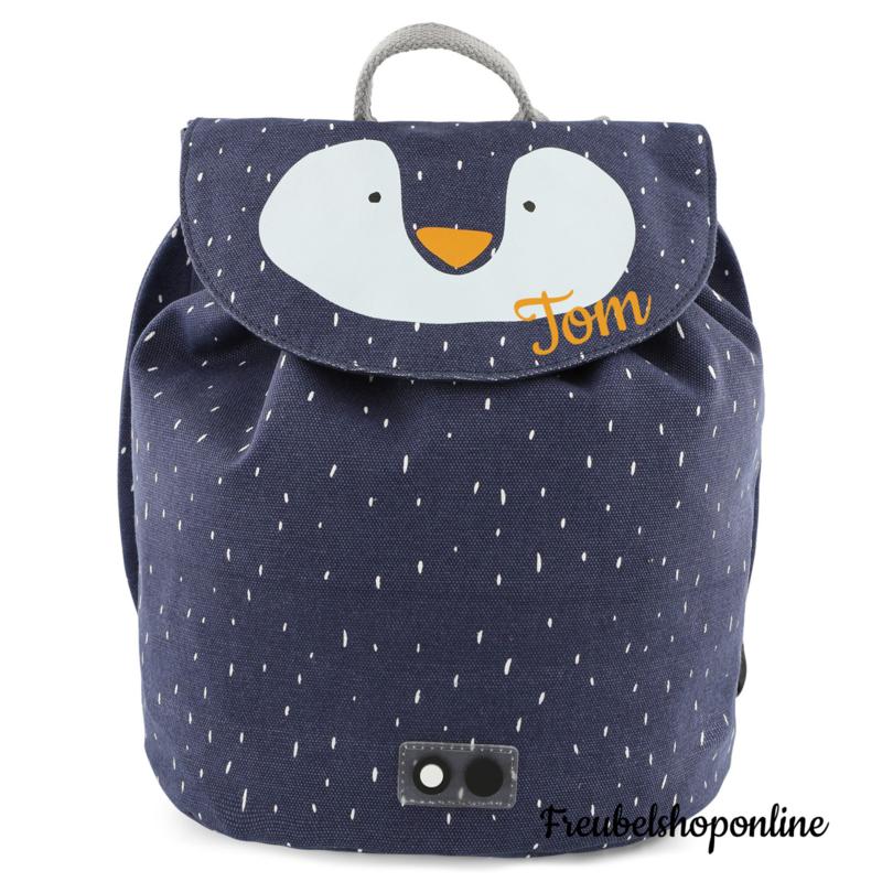 Trixie Mini rugzak - Mr. Penguin met naam