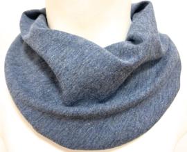 Softblauw gemeleerd sjaal