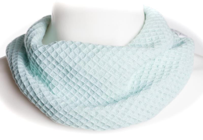Mintgroene sjaal