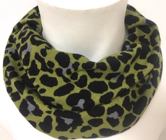 Groen pantherprint
