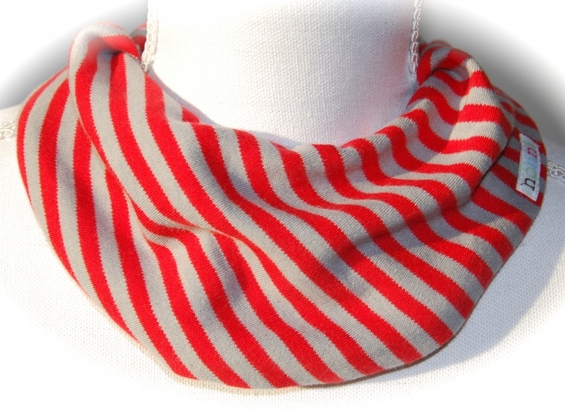 Rood en grijze streep