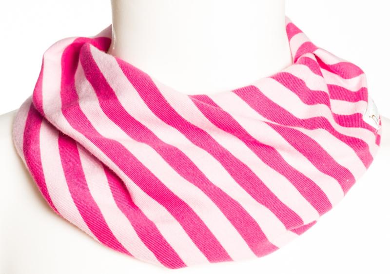 Pink en roze streep