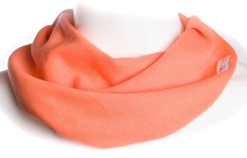 Fel oranje sjaal