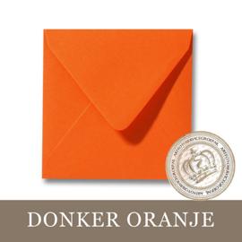 Envelop - Donker Oranje