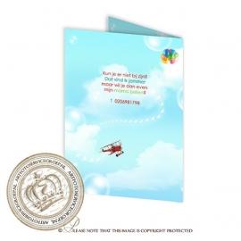 Kinderverjaardag Uitnodiging BC205 FC2