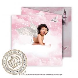 Sprookjes Geboortekaartje GB263 FC3 Pink