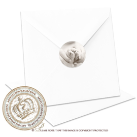 Sluitzegel Geboortekaartje SLZ018