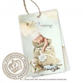 Geboortekaartje Label GBL231
