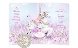 Sprookjes Geboortekaartje GB867 DD Pink