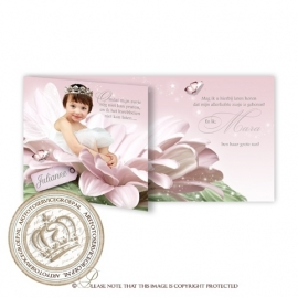 Sprookjes Geboortekaartje GB282 HF2 Pink