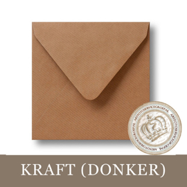 Kraft envelop - Donker