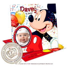 Kinderverjaardag Uitnodiging BC025 BOY