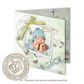 Sprookjes Geboortekaartje GB287 FC2 Blue