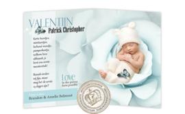 Baby Magazine cover GB386 FC2 Blue