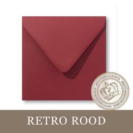 Envelop - Retro Rood