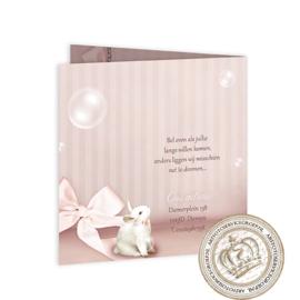 Sprookjes Geboortekaartje GB498 FC2 Pink