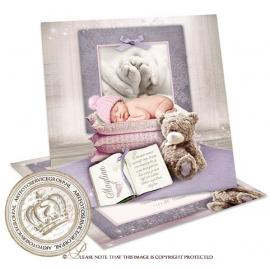 Sprookjes Geboortekaartje GB391  Pink