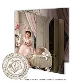 Sprookjes Geboortekaartje GB353 FC2 Pink