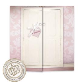 Sprookjes Geboortekaartje GB409 DD Pink