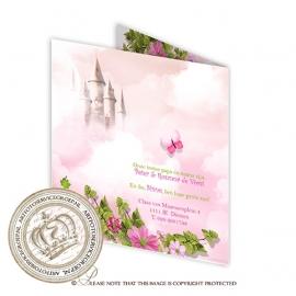 Sprookjes Geboortekaartje GB586 FC2 Pink