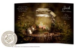 Sprookjes Geboortekaartje GB475 DD