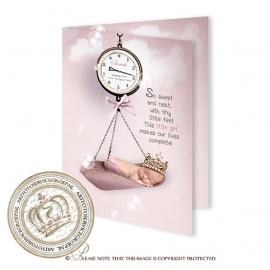 Sprookjes Geboortekaartje GB843 FC2 Pink