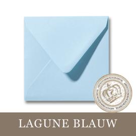 Envelop - Lagune Blauw