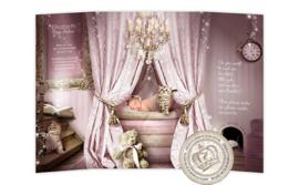 Sprookjesgeboortekaartje GB360 DD Pink