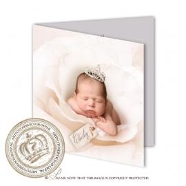 Sprookjes Geboortekaartje GB056 FC2 Ivory