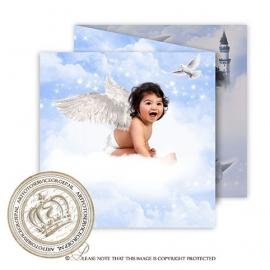 Sprookjes Geboortekaartje GB263 FC3 Blue