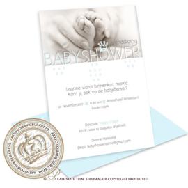 Babyshower kaart BS010