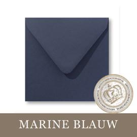 Envelop - Marine Blauw