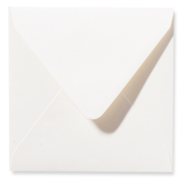 Parelmoer Envelop - ivory