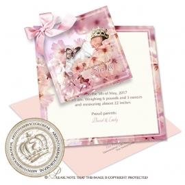Sprookjes Geboortekaartje GB507 DS Pink
